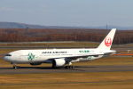funi9280さんが、新千歳空港で撮影した日本航空 777-246の航空フォト(写真)