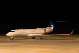 Cygnus00さんが、新千歳空港で撮影したPriavte G500/G550 (G-V)の航空フォト(写真)