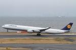 rjジジィさんが、羽田空港で撮影したルフトハンザドイツ航空 A340-642Xの航空フォト(写真)
