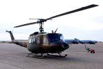 まいけるさんが、茨城空港で撮影した陸上自衛隊 UH-1Jの航空フォト(写真)