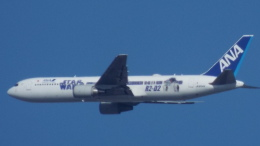 otromarkさんが、八尾空港で撮影した全日空 767-381/ERの航空フォト(飛行機 写真・画像)