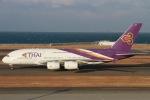 rjジジィさんが、中部国際空港で撮影したタイ国際航空 A380-841の航空フォト(写真)