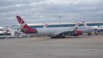 AE31Xさんが、ロンドン・ヒースロー空港で撮影したヴァージン・アトランティック航空 A340-642の航空フォト(写真)