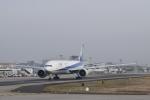 金魚さんが、フランクフルト国際空港で撮影した全日空 777-300の航空フォト(写真)