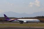 funi9280さんが、新千歳空港で撮影したタイ国際航空 777-3D7の航空フォト(飛行機 写真・画像)