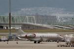 ハピネスさんが、関西国際空港で撮影したビスタジェット BD-100-1A10 Challenger 350の航空フォト(飛行機 写真・画像)