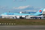 Tomo-Papaさんが、成田国際空港で撮影した大韓航空 747-8B5の航空フォト(写真)