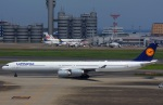 KAZKAZさんが、羽田空港で撮影したルフトハンザドイツ航空 A340-642の航空フォト(写真)