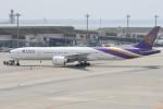 kuro2059さんが、中部国際空港で撮影したタイ国際航空 777-3D7/ERの航空フォト(写真)
