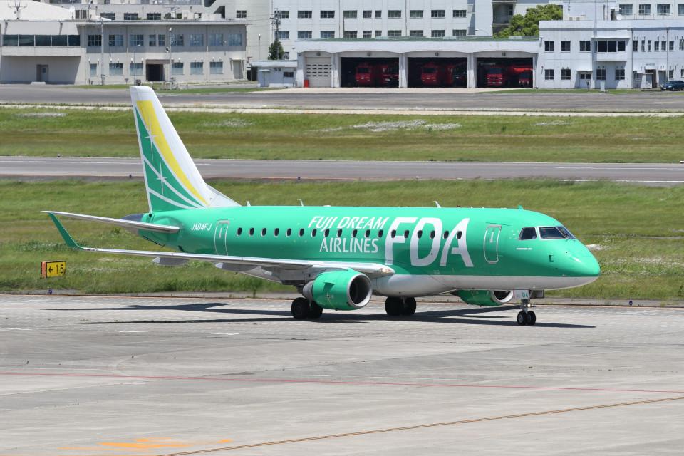 kuro2059さんのフジドリームエアラインズ Embraer 170 (JA04FJ) 航空フォト