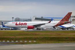 matatabiさんが、成田国際空港で撮影したタイ・ライオン・エア A330-343Xの航空フォト(飛行機 写真・画像)