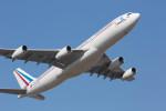 BENKIMAN-ENLさんが、成田国際空港で撮影したフランス空軍 A340-212の航空フォト(写真)