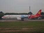 JA8037さんが、広州白雲国際空港で撮影した天津航空 A321-231の航空フォト(写真)
