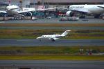 まいけるさんが、羽田空港で撮影した毎日新聞社 525A Citation CJ2の航空フォト(写真)