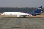 MOR1(新アカウント)さんが、熊本空港で撮影したワールド・エアウェイズ MD-11の航空フォト(写真)