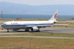 キイロイトリさんが、関西国際空港で撮影した中国国際航空 A330-343Xの航空フォト(写真)