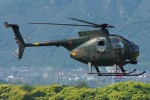 MOR1(新アカウント)さんが、防府北基地で撮影した陸上自衛隊 OH-6Dの航空フォト(写真)