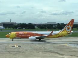 こじゆきさんが、ドンムアン空港で撮影したノックエア 737-88Lの航空フォト(飛行機 写真・画像)