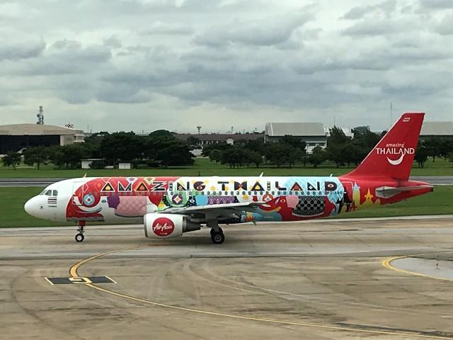 タイ・エアアジア Airbus A320-200 HS-ABD ドンムアン空港  航空フォト   by こじゆきさん