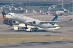 JRF spotterさんが、香港国際空港で撮影したキャセイパシフィック航空 A350-1041の航空フォト(写真)