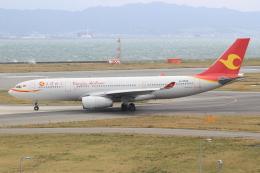 キイロイトリさんが、関西国際空港で撮影した天津航空 A330-243の航空フォト(写真)