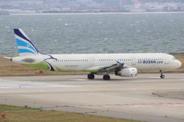 キイロイトリさんが、関西国際空港で撮影したエアプサン A321-231の航空フォト(写真)