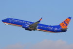 masa707さんが、ロサンゼルス国際空港で撮影したサンカントリー・エアラインズ 737-8F2の航空フォト(写真)