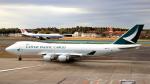誘喜さんが、成田国際空港で撮影したキャセイパシフィック航空 747-467F/ER/SCDの航空フォト(写真)