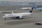 たーしょ@0525さんが、羽田空港で撮影したルフトハンザドイツ航空 A350-941XWBの航空フォト(写真)