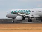 からすさんが、山口宇部空港で撮影したエアソウル A321-231の航空フォト(写真)