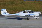 いおりさんが、北九州空港で撮影した日本法人所有 DA40 NG Diamond Starの航空フォト(写真)