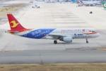 青春の1ページさんが、関西国際空港で撮影した天津航空 A320-214の航空フォト(写真)