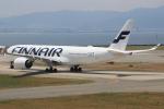 キイロイトリさんが、関西国際空港で撮影したフィンエアー A350-941XWBの航空フォト(写真)