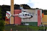 ピリンダさんが、静岡ヘリポートで撮影した静岡エアコミュータ EC135T2の航空フォト(写真)