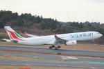 マサヒロさんが、成田国際空港で撮影したスリランカ航空 A330-343Xの航空フォト(写真)