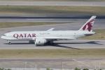 taka777さんが、香港国際空港で撮影したカタール航空カーゴ 777-FDZの航空フォト(写真)