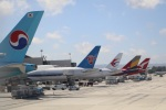 レガシィさんが、ロサンゼルス国際空港で撮影した大韓航空 A380-861の航空フォト(写真)