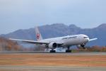 梅こぶ茶さんが、広島空港で撮影した日本航空 777-346/ERの航空フォト(写真)