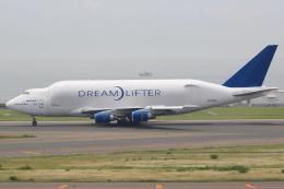 キイロイトリさんが、中部国際空港で撮影したボーイング 747-409(LCF) Dreamlifterの航空フォト(写真)