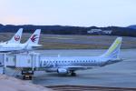 ピーチさんが、岡山空港で撮影したフジドリームエアラインズ ERJ-170-200 (ERJ-175STD)の航空フォト(写真)