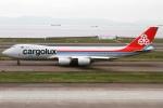 rjジジィさんが、中部国際空港で撮影したカーゴルクス 747-8R7F/SCDの航空フォト(写真)