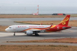 JA946さんが、関西国際空港で撮影した香港航空 A320-214の航空フォト(写真)