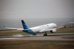 JA946さんが、関西国際空港で撮影したガルーダ・インドネシア航空 A330-343Eの航空フォト(写真)
