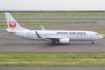 キイロイトリさんが、中部国際空港で撮影した日本航空 737-846の航空フォト(写真)