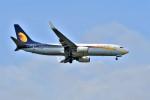 Hiro Satoさんが、スワンナプーム国際空港で撮影したジェットエアウェイズ 737-85Rの航空フォト(写真)