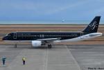 れんしさんが、山口宇部空港で撮影したスターフライヤー A320-214の航空フォト(写真)