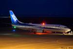 れんしさんが、山口宇部空港で撮影した全日空 737-881の航空フォト(写真)