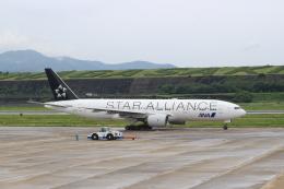 キイロイトリさんが、長崎空港で撮影した全日空 777-281の航空フォト(写真)