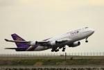 garrettさんが、羽田空港で撮影したタイ国際航空 747-4D7の航空フォト(写真)