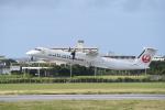 kumagorouさんが、宮古空港で撮影した琉球エアーコミューター DHC-8-402Q Dash 8 Combiの航空フォト(写真)